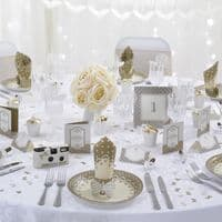 Gold Freestanding Table Numbers 1-12